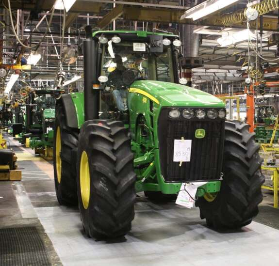 Union workers at Deere & Co. vote down the company's latest contract offer Sunday night