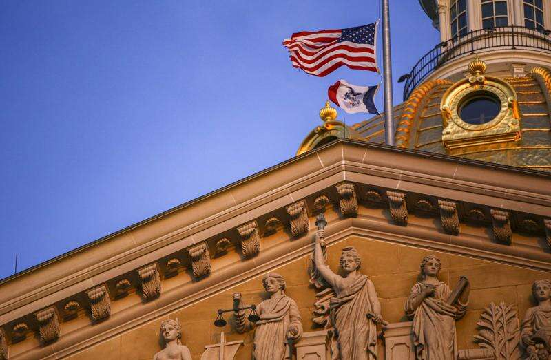 Iowa's supersonic Statehouse election bill process oozes accountability