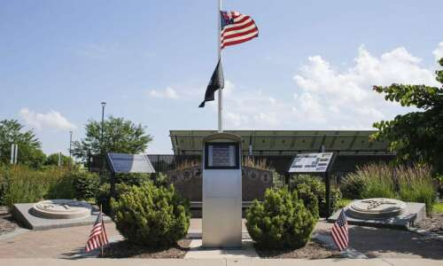 Johnson County Armory and Veterans Memorial completes monument expansion
