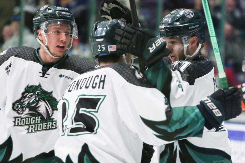 Cedar Rapids RoughRiders topple Team USA in Game 1 of USHL first round