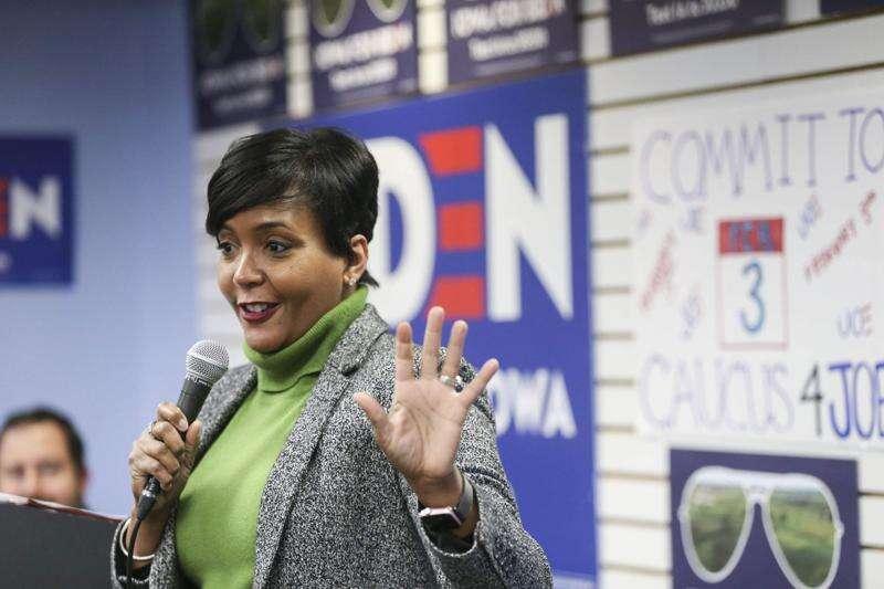 Atlanta mayor says Biden 'over delivers'