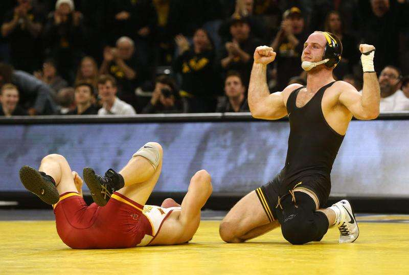 Loss off the mat changed Iowa wrestler Alex Marinelli's perspective