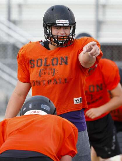 Solon lineman Tyler Linderbaum, a Hawkeye recruit, named to All-American Bowl