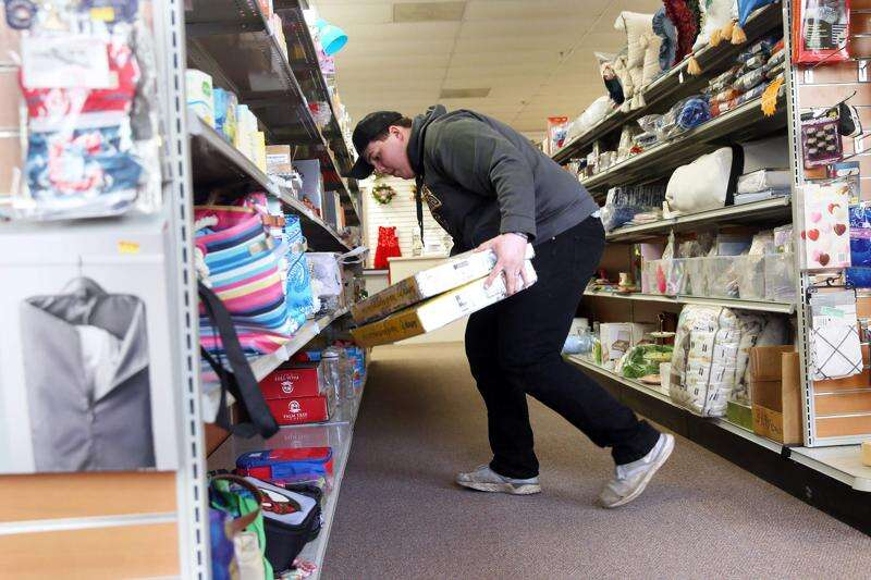 Ornery Octopus aims for 'treasure hunt' appeal, selling overstock items at half price in Hiawatha
