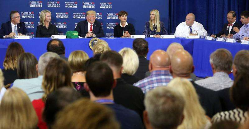Trump talks year-round E15 ethanol sales during Iowa visit