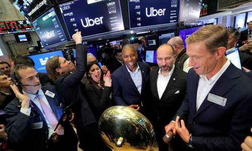 Uber fizzles in Wall Street debut