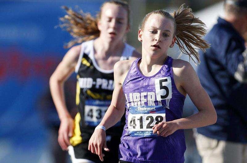 Drake Relays: Ashlyn Keeney is the fastest 3,000 freshman in Iowa history