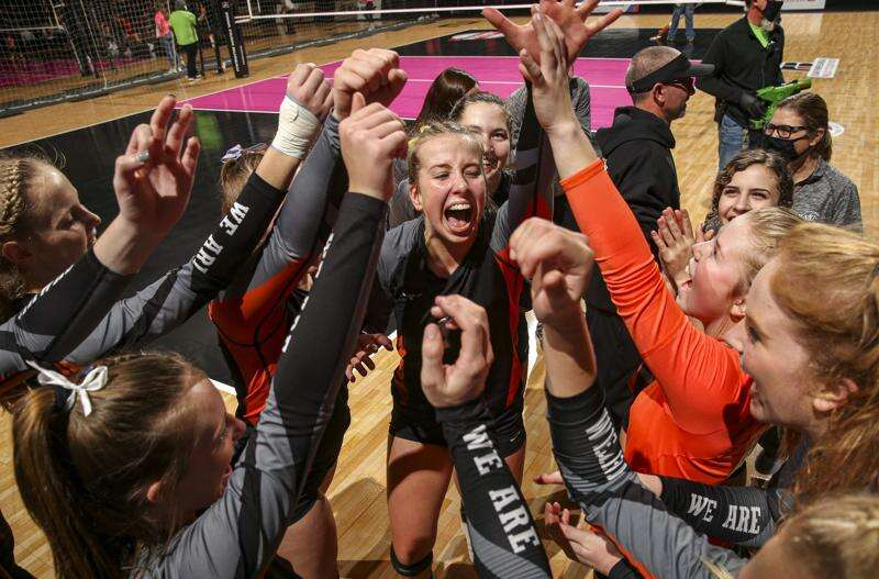 West Delaware sweeps Gilbert to reach 4A state volleyball championship match