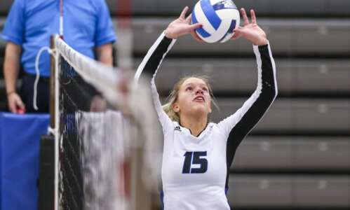Kirkwood volleyball moves 1 win away from national tournament in…