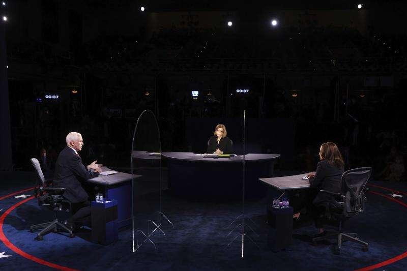 Virus top concern at VP debate