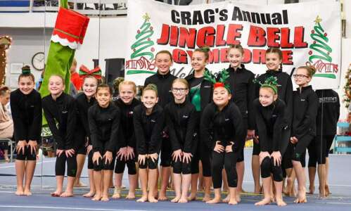 Twisters' Dylan Wagner wins 4 Jingle Bell gymnastics titles