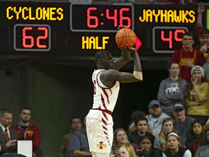 Marial Shayok, the Big 12's leading scorer, personifies gym-rat mentality at Iowa State