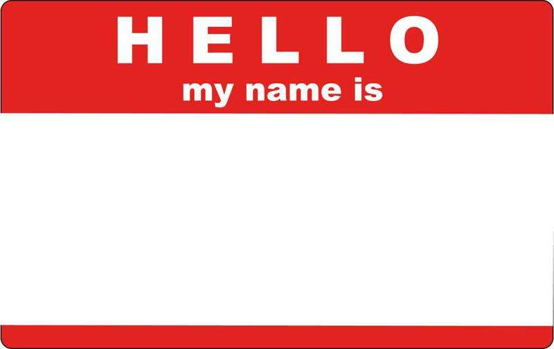 Hello, my name is . . . the links