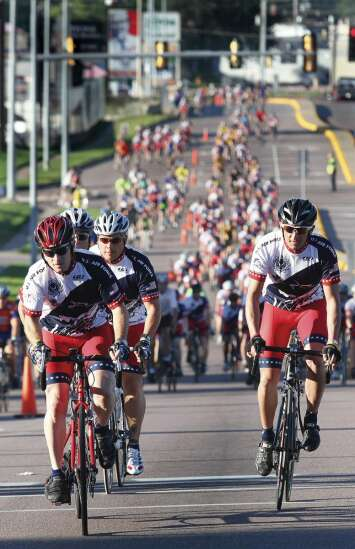 RAGBRAI, in mea culpa over past philanthropic practices, commits more to Iowa charities