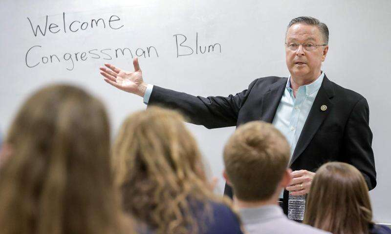 1st District residents only allowed in Blum town halls