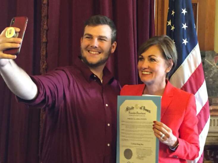 This Saturday is now Carson King Day in Iowa, by gubernatorial decree