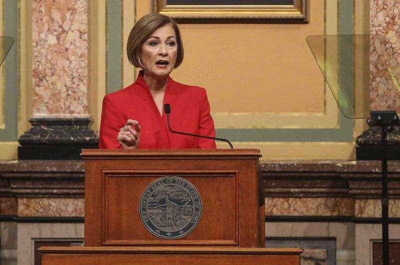 Reynolds' thank you to Iowa public schools: Mandates and vouchers