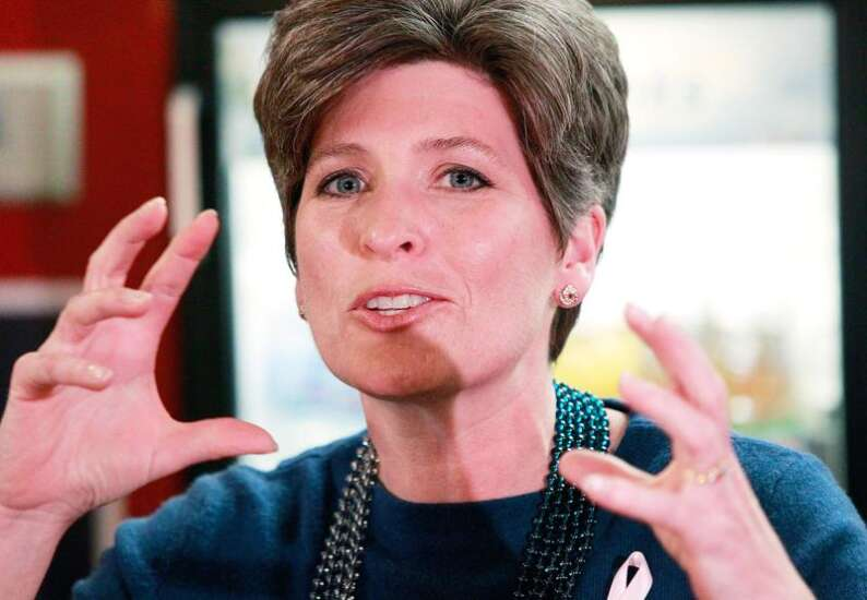 Ernst: Republicans not focused on Garland as Supreme Court nominee