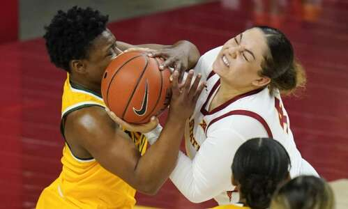 Iowa State women's basketball stays with No. 9 Baylor, but…