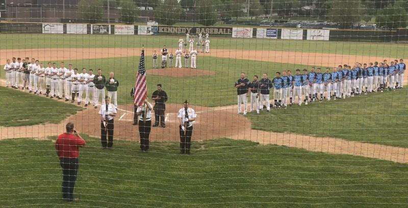 Special national anthem performance sets tone for dramatic Kennedy-Jefferson baseball game
