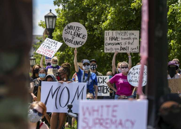 Where, when protests are in Iowa City, Cedar Rapids