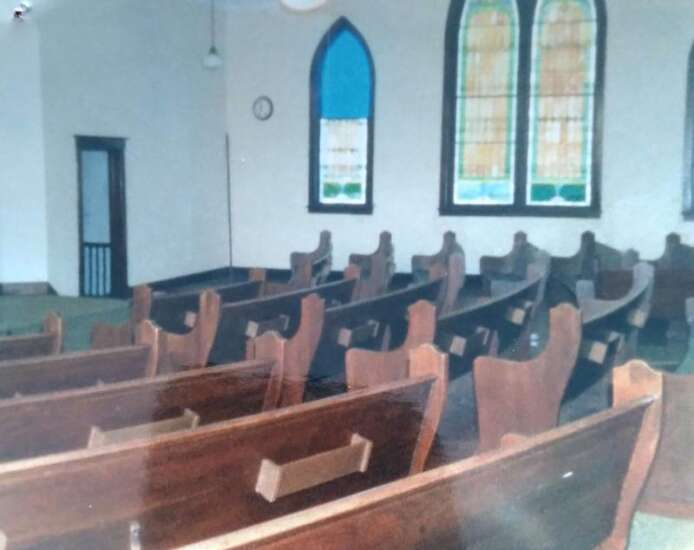 The walls came tumbling down Old Rome Baptist Church collapses after years sitting empty