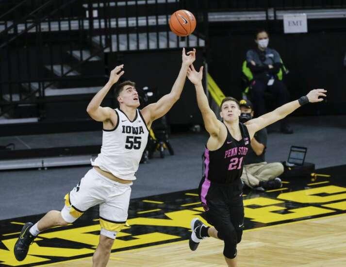 Photos: Iowa Hawkeyes men's basketball vs. Penn State Nittany Lions