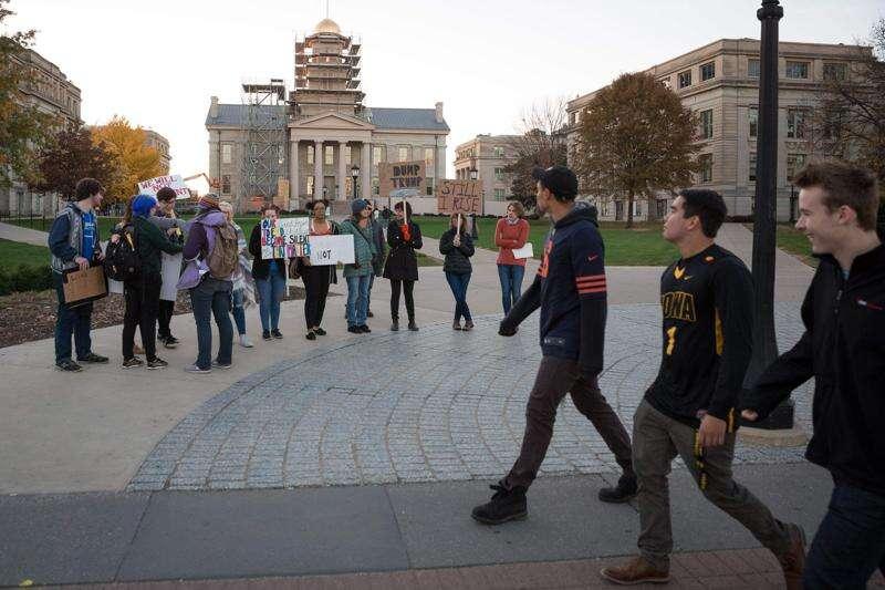 Iowa universities respond to postelection tensions