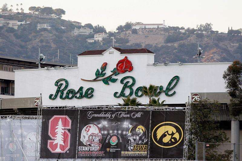 University of Iowa's Rose Bowl trip resulted in a $228,445 deficit