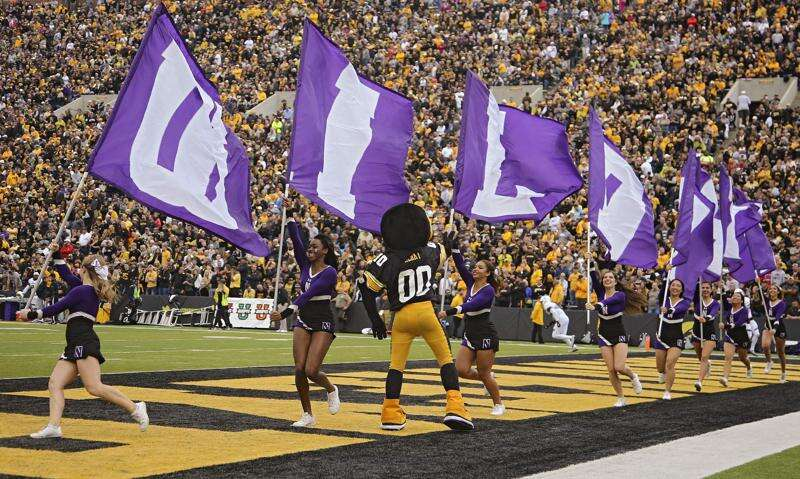Iowa-Northwestern football is an even series in the 21st century. Is it a rivalry?