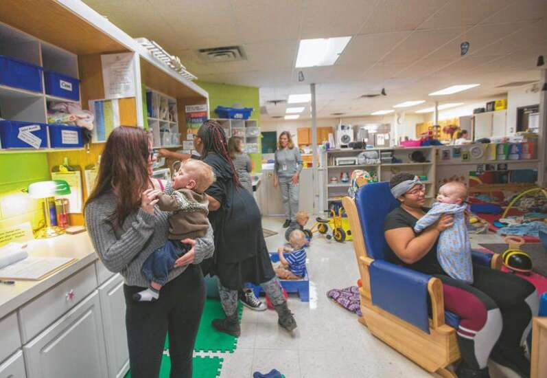 Staying on track: A handful of Iowa schools offer child care for student parents