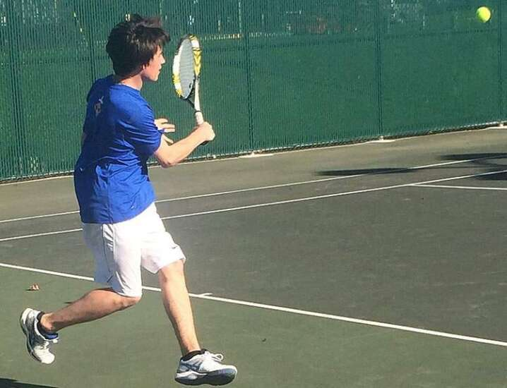 Bright future for Wahlert tennis
