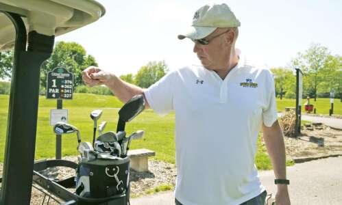 Golfers celebrate as Jones Golf Course opens for season