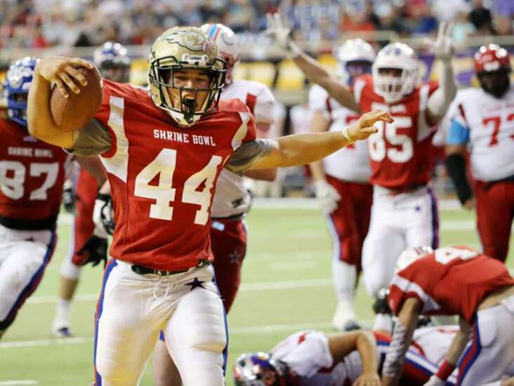 Iowa City West's Landon Green leads South All-Stars to victory in Iowa Shrine Bowl