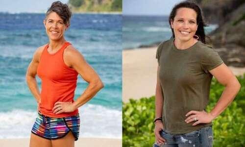 Iowans Stapley, Lacina survive and prosper in 'Survivor' premiere