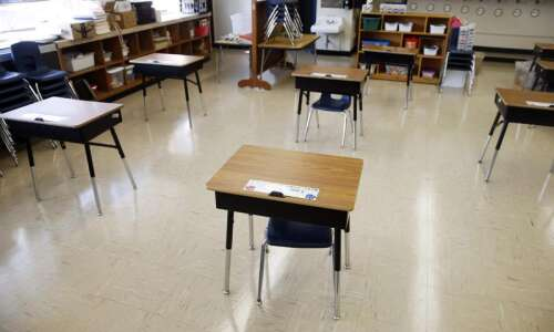 Iowa students get back into habit of learning after almost…