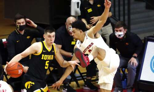 Iowa men's basketball wants more CJ, fewer 'T's