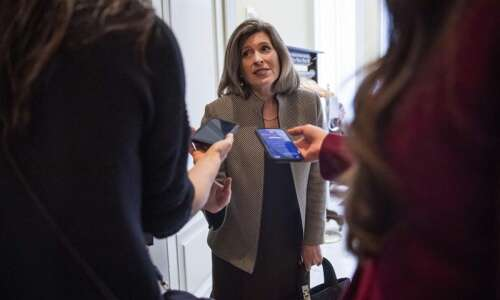 Iowa Democrats launch website tracking Joni Ernst's words vs. actions