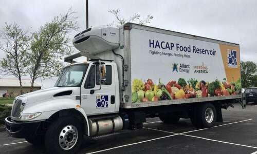 Alliant Energy donates new truck to HACAP Food Reservoir; Funding…