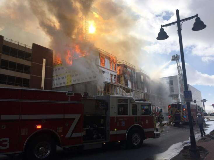 Iowa City fire caused by propane heater, damage estimate at $1 million