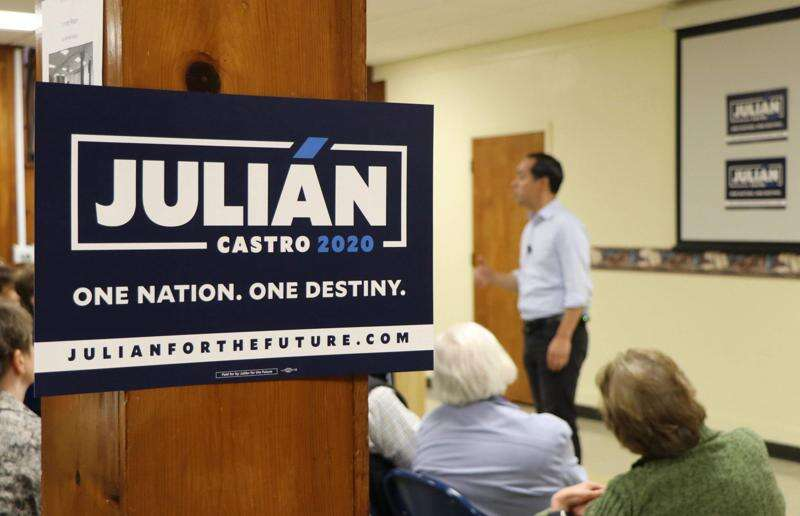 Castro casts a wide net for 2020 caucus supporters