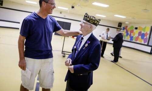 94-year-old Iowa World War II combat medic finally gets his…