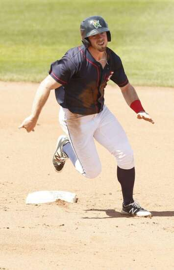 New Cedar Rapids Kernels outfielder Jimmy Kerrigan provides strength (and conditioning)