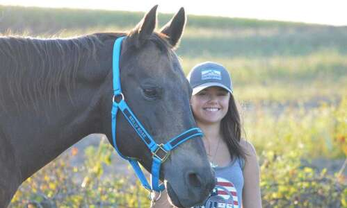 Mount Vernon's Reilly Gross gives retired horses life