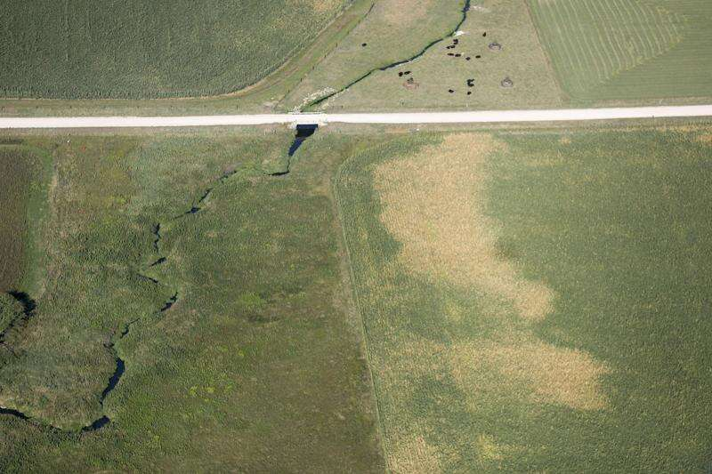 Photos: Aerial images from Iowa derecho 2020