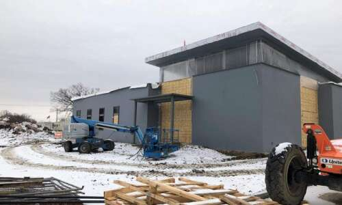 Construction of new North Liberty police station on schedule to…