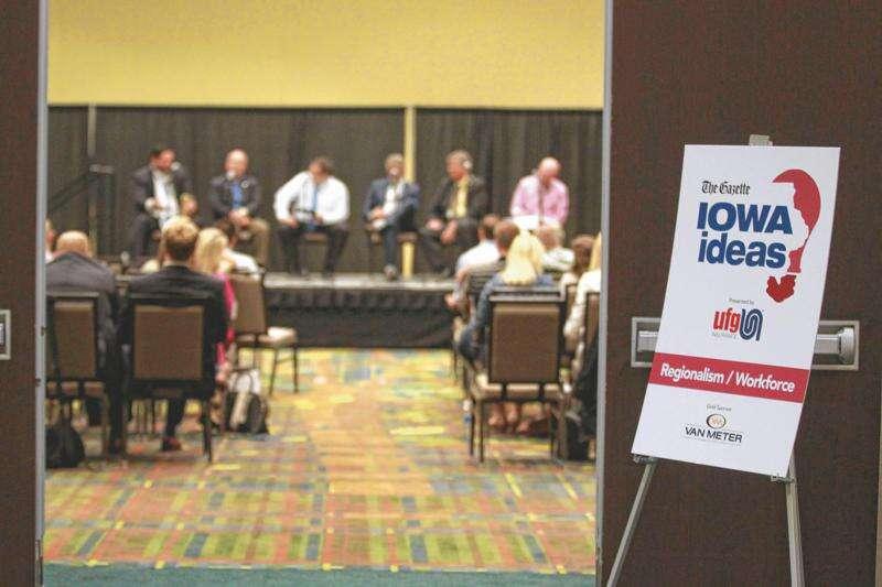 Connecting talented Iowans and their ideas, again