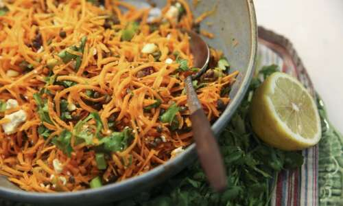 A little cilantro and coriander add flavor to these recipes