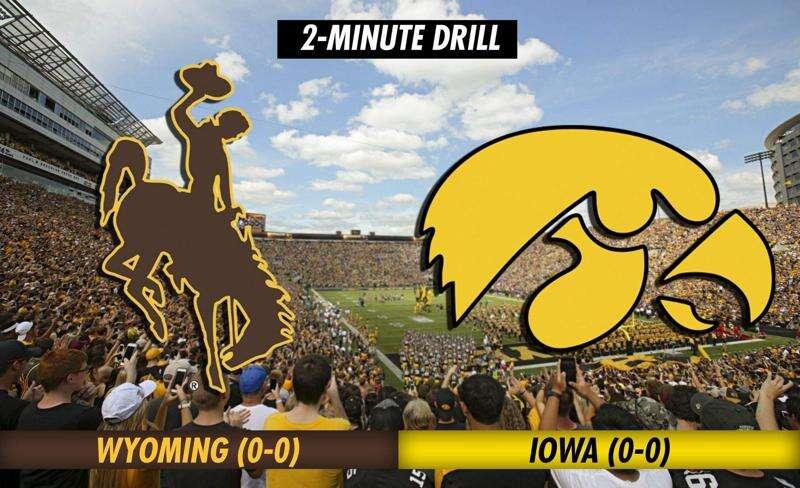 2-Minute Drill: Iowa Hawkeyes vs. Wyoming Cowboys