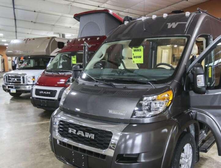 RV sales soar ahead of pandemic's second summer